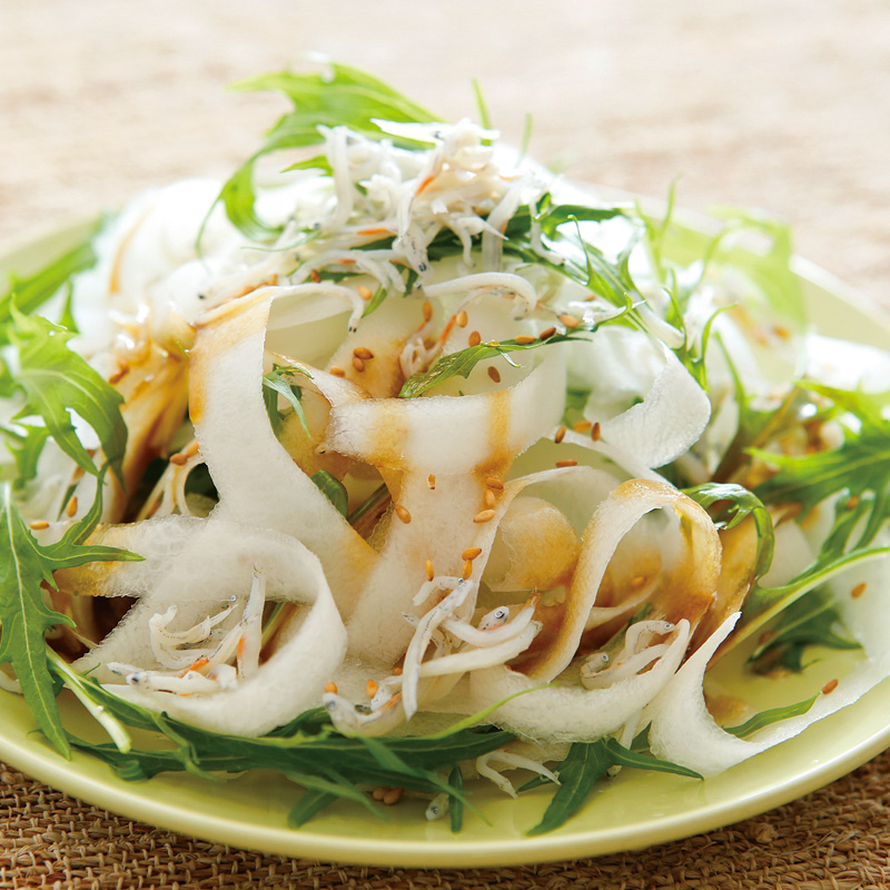 サラダ ダイコン レディーサラダ大根<赤大根<大根:旬の野菜百科