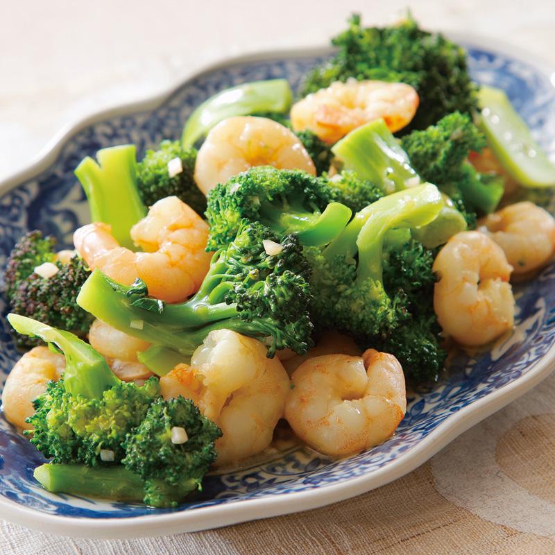 ブロッコリー エビ と えびとブロッコリーの炒めもの |キユーピー3分クッキング|日本テレビ