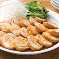 レンチン鶏ムネ肉のチャーシュー風