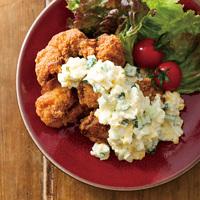 「若鶏モモ唐揚」&レンジタルタルソース