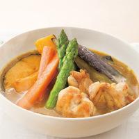 スティック野菜のスープカレー