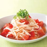 トマト冷やし麺