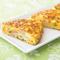野菜が食べやすいスパニッシュオムレツ