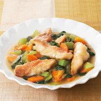 赤魚とチンゲン菜のうま煮