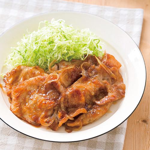 豚ロース 生姜焼き レシピ