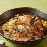 「仙台麩(あぶら麩)スライス」の卵とじ丼