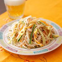 中華風ラー油サラダ