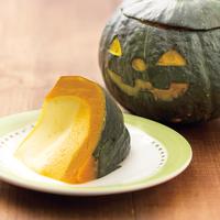 かぼちゃ丸ごとプリン