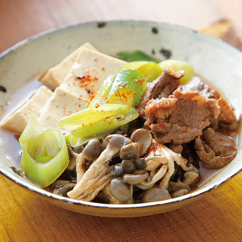 肉 豆腐 の レシピ