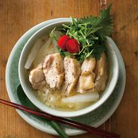 スープ海南鶏飯