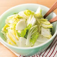 白菜と大根のさわやかマリネ