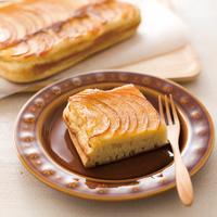 薄切りりんごのパンケーキ