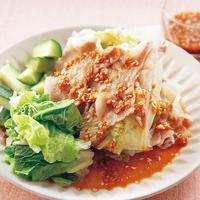 豚バラ肉の中華蒸し