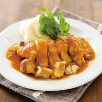 鶏モモ肉のソテー みかんソース