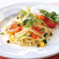 彩りサラダスパゲッティ