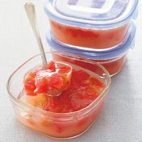 トマトとりんごのぷるるんサラダ