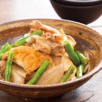 厚揚げふんわり肉豆腐
