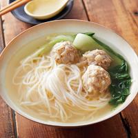 鶏スープ米麺