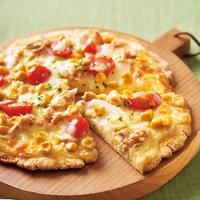 ホットケーキミックスのピザ