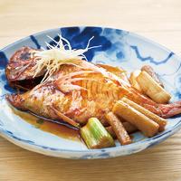 金目鯛とごぼうの煮付け