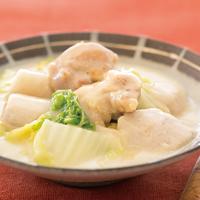里芋と白菜、鶏肉の和風シチュー