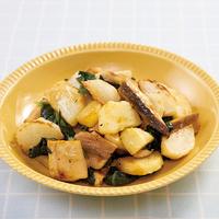 ほっけと野菜のバター醤油炒め