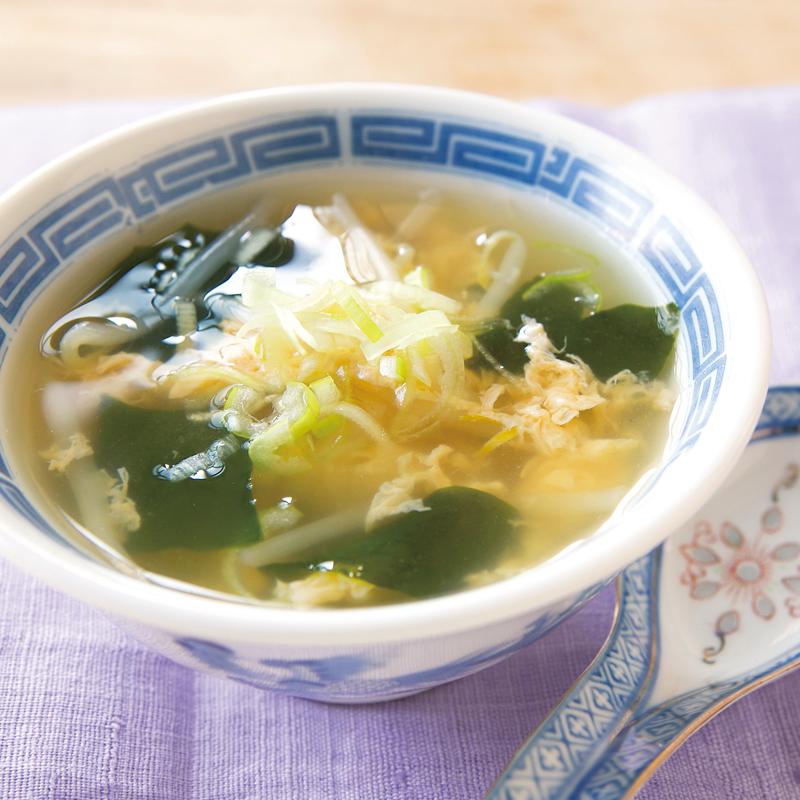 ガラ 卵 スープ 鶏