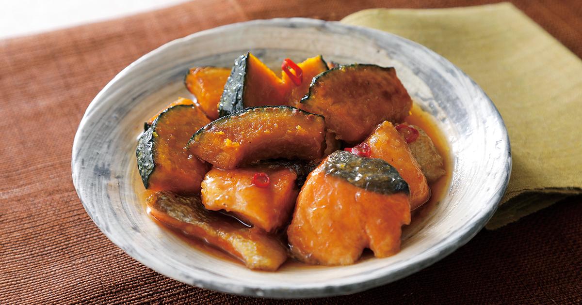 かぼちゃの煮物 フライパン