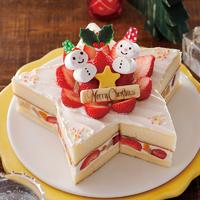 キラキラ星ケーキ