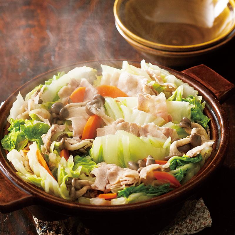 白菜 ミルフィーユ と 豚肉 の 【失敗なしっ!】白菜と豚肉のミルフィーユ鍋♪ レシピ・作り方