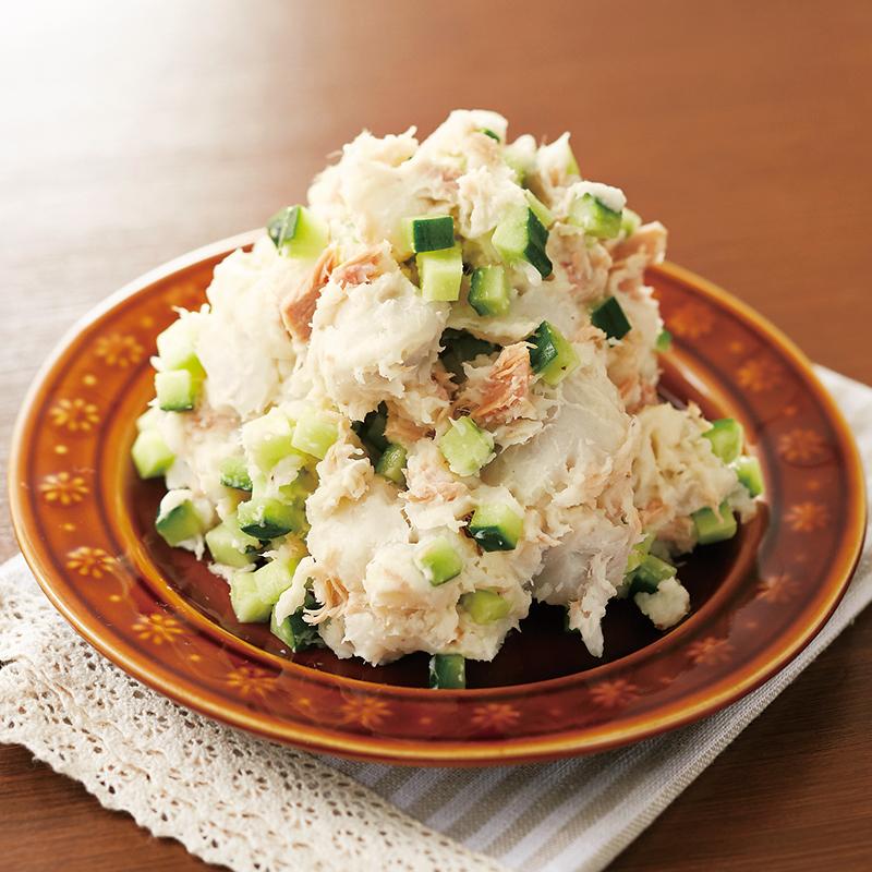 里芋とツナのポテトサラダ