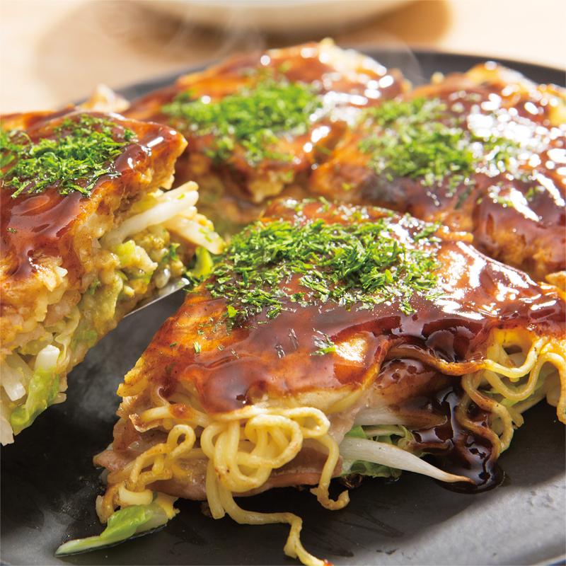 お好み焼き 広島 レシピ 風