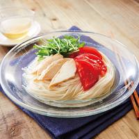 梅酢の冷製麺