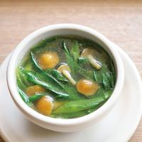 ねぎたっぷり中華風なめこスープ