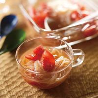 トマトと春雨のスープおひたし