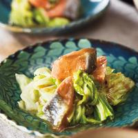 鮭とキャベツのちゃんちゃん焼き風