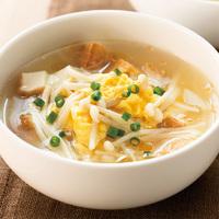 えのき茸の中華かきたまスープ