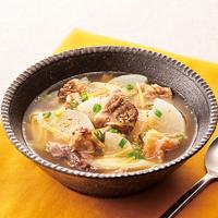 牛すじの韓国風スープ