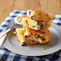 黒豆とナッツのホットケーキ