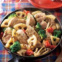 豚ロースと野菜のイタリアンソース