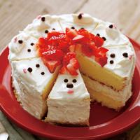 サンタいっぱいケーキ