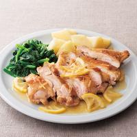 鶏肉とほうれん草のレモンジンジャー