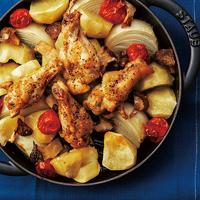 鶏手羽元のシンプルオーブン焼き
