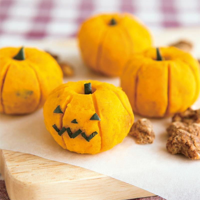 かぼちゃのハロウィンきんとん