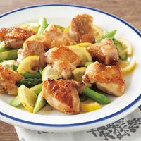 鶏モモ肉の塩レモン炒め
