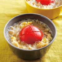 トマトと卵の春雨スープ