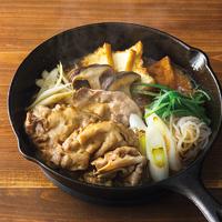 豚肉のすき焼き鍋