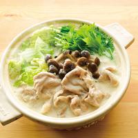 豚モモ肉の豆乳鍋