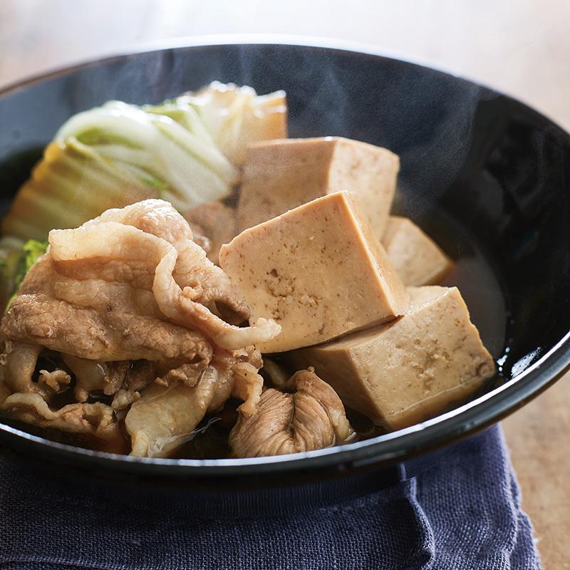 バラ 豆腐 豚