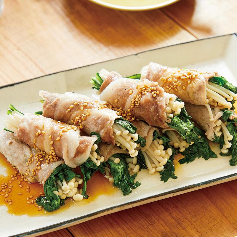 豚 バラ えのき 巻き 豚肉とえのきの人気レシピランキング|楽天レシピ